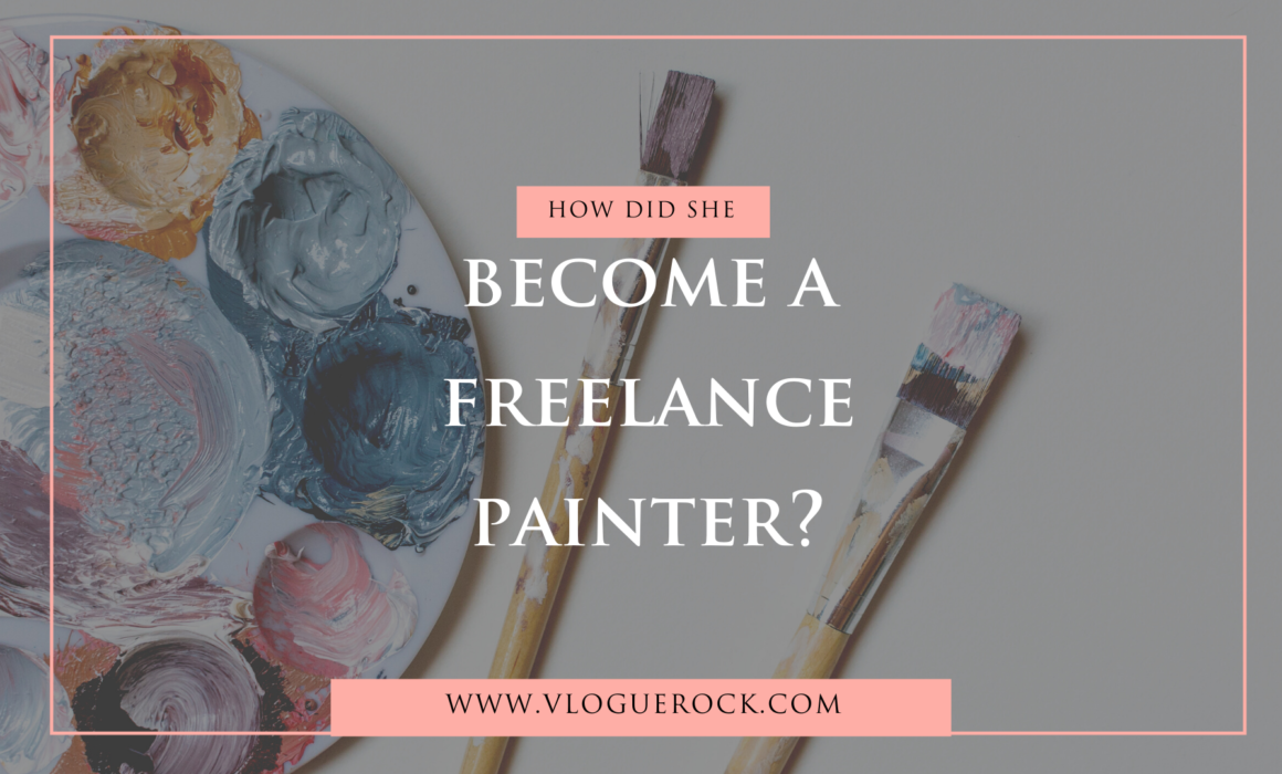 become a freelance painter