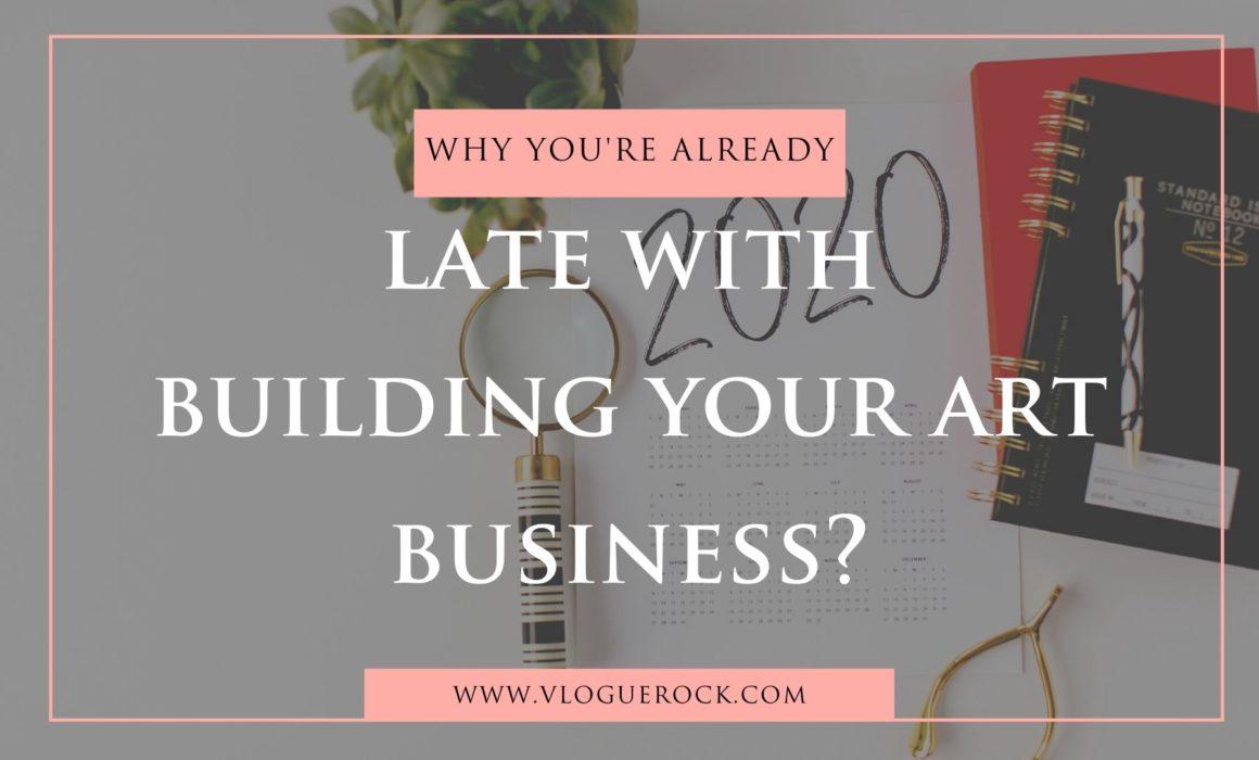 building your art business
